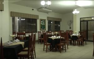 A restaurant or other place to eat at Hotel Frontera