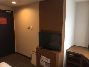 A television and/or entertainment center at HOTEL MYSTAYS Kamata