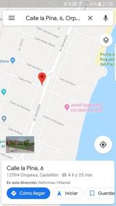 A bird's-eye view of Apartamento en Oropesa del Mar
