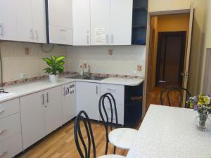 A kitchen or kitchenette at Rivne Hostel