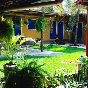 The swimming pool at or near Pousada Dois Rios