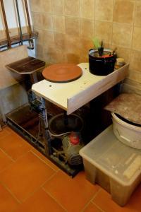 Koupelna v ubytování Ubytko 96 Tučapy