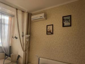 Ванная комната в Апартаменты Светлана на Курортном