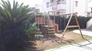 Children's play area at Villa Del Mar