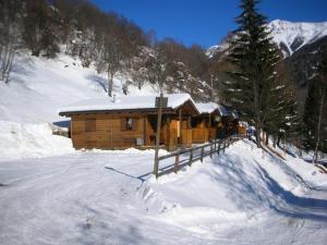 Camping Val di Sole durante l'inverno