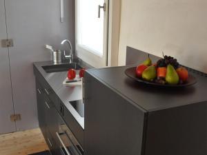 Küche/Küchenzeile in der Unterkunft B&B Thurelle Bertschen