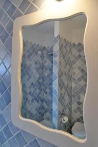A bathroom at Dolce Vita Boutique Hotel