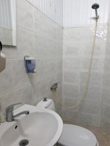 Ванная комната в Hotel Old Star