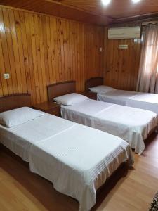 Кровать или кровати в номере Hotel Old Star