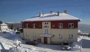Prázdninový dům Na Panorámě v zimě