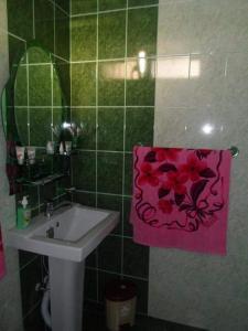 A bathroom at Vernatun Guesthouse