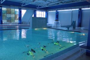 The swimming pool at or close to Capsule Hostel Capslock