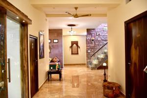 The lobby or reception area at Kankariya Heritage