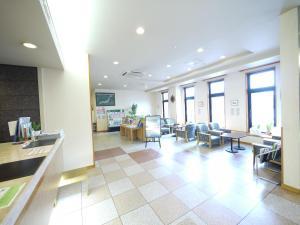 Restaurant ou autre lieu de restauration dans l'établissement Hotel Route-Inn Kani