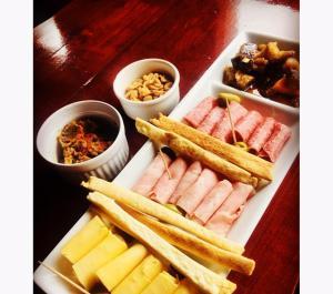 Comida en la hostería o alrededores