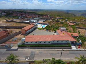 A bird's-eye view of Pousada Sol Nascente