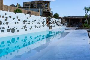The swimming pool at or close to Eco Village Finca De Arrieta