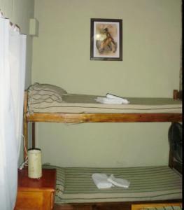 Una cama o camas cuchetas en una habitación  de Rocío de Luz