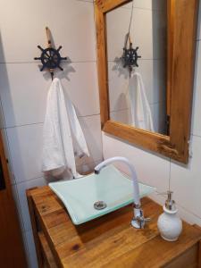 A bathroom at Flat Container Pontal do Atalaia