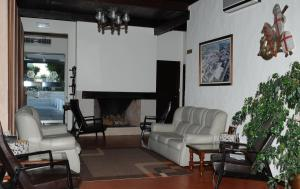 A seating area at Hotel S. Jorge