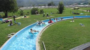 A view of the pool at Happy Camp Mobile Homes in Camping Terme Čatež or nearby