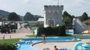 The swimming pool at or near Happy Camp Mobile Homes in Camping Terme Čatež