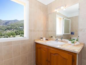 A bathroom at Villas San Daniellu