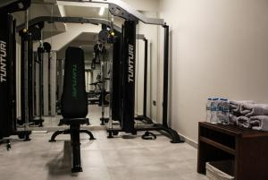 The fitness center and/or fitness facilities at Oniro City