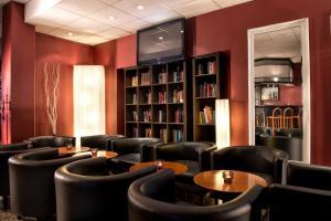 Lounge oder Bar in der Unterkunft Good Morning + Bad Oldesloe