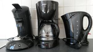 Koffie- en theefaciliteiten bij Floris'Home