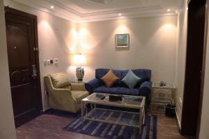 A seating area at Wakan Al Salama