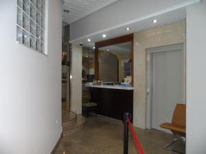 El vestíbulo o zona de recepción de Hostal Coruña