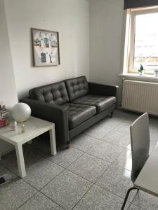 Een zitgedeelte bij Apartment de Boer