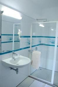 Ein Badezimmer in der Unterkunft Ocean Spray