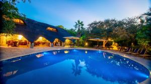 The swimming pool at or near Bayete Guest Lodge