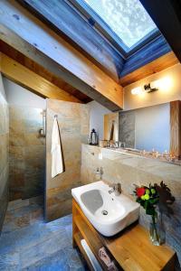 Kúpeľňa v ubytovaní Chalets Jasná Collection Záhradky