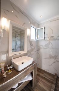 Ένα μπάνιο στο Villa Verde