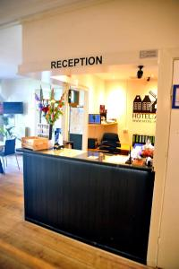 Hall ou réception de l'établissement Hotel Abba