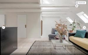 A seating area at Heart of Copenhagen - Luxury