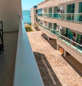 A balcony or terrace at Praia Grande, Angra dos Reis