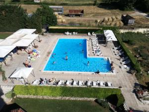 A view of the pool at FILIPPONE HOTEL&RISTORANTE or nearby