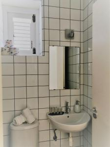 Um banheiro em Landhuis Klein Santa Martha Boutique Hotel Restaurant.