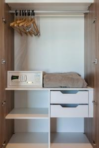 A kitchen or kitchenette at RioStay Residence - Riocentro