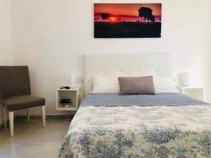 Cama o camas de una habitación en Clemens9 Premium