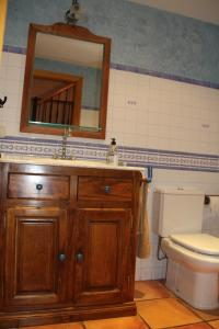 A bathroom at Casa Rural La Torre De Babel