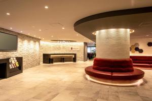 The lobby or reception area at Agora Place Osaka Namba