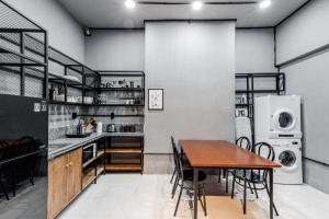 A kitchen or kitchenette at CIRCADIAN Industrial Studios on Nguyen Hue