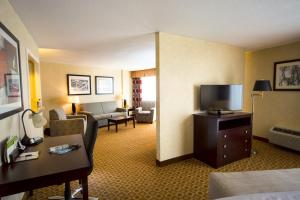 A television and/or entertainment center at DoubleTree by Hilton Portland, ME