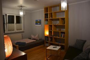 Ein Sitzbereich in der Unterkunft Apartment Avanzato