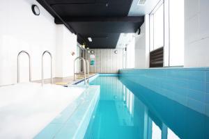 The swimming pool at or near BHB Explore CBD Doorsteps #Free Carpark, Wine, Wifi